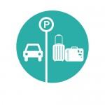 Stationnement & point shute de bagages 500X647