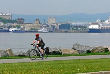 Québec - lévis - saint Laurent à vélo