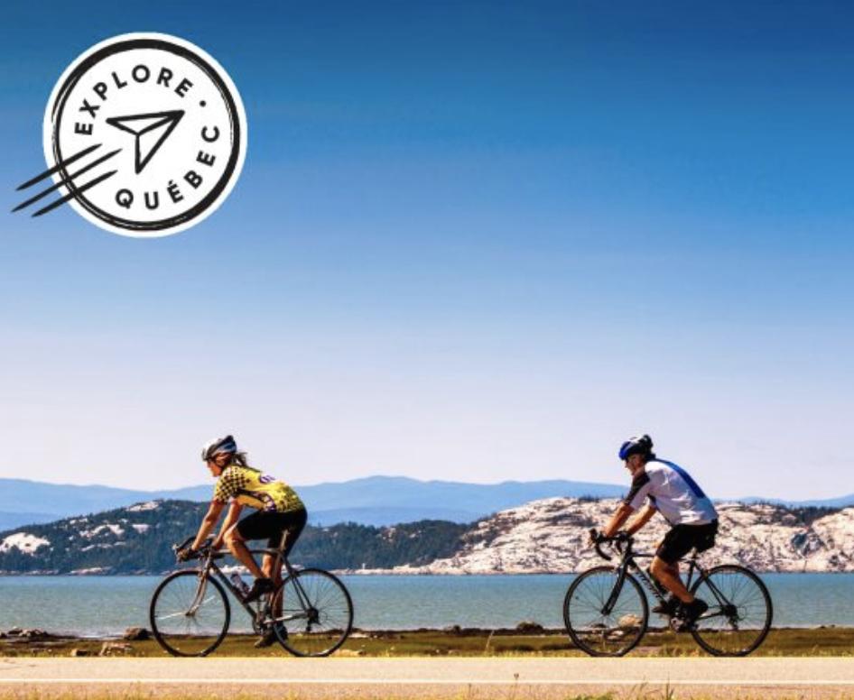 ekilib - agence voyage vélo - explore québec - quebec à vélo - st laurent à vélo